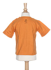 T-shirt manches courtes orange LA TRIBBU pour garçon seconde vue