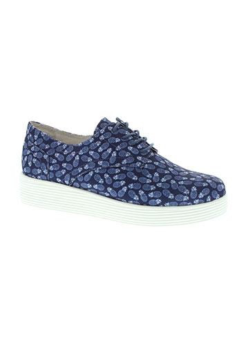 mellow yellow chaussures femme de couleur bleu