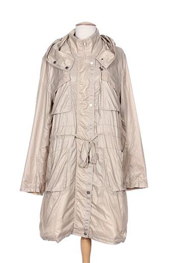 areline manteaux femme de couleur beige