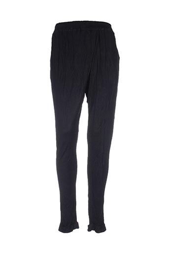 numph pantalons femme de couleur noir