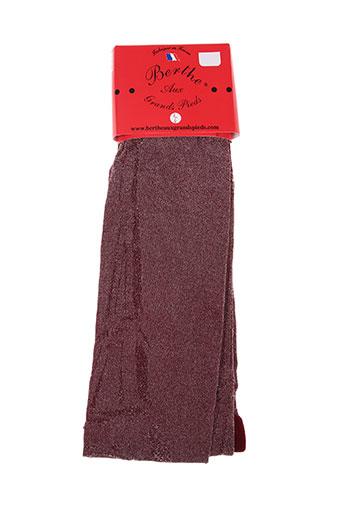 berthe aux grands pieds lingerie femme de couleur rouge