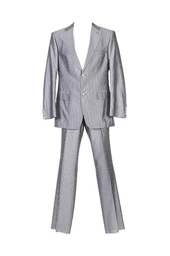 Costume de ville gris HUGO BOSS pour homme