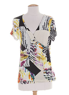 Produit-T-shirts / Tops-Femme-VERTIGO PARIS