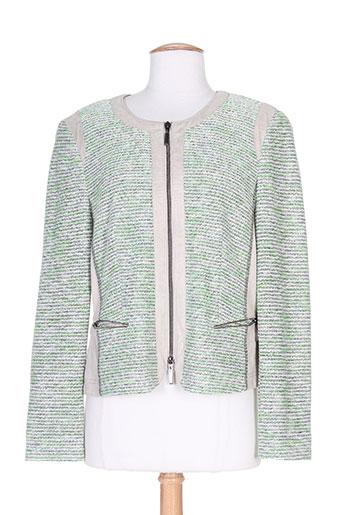gelco vestes femme de couleur vert