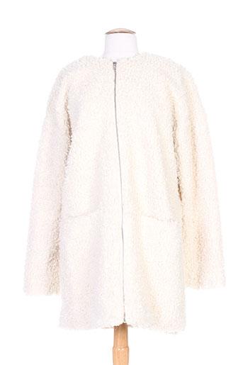 minimum manteaux femme de couleur blanc