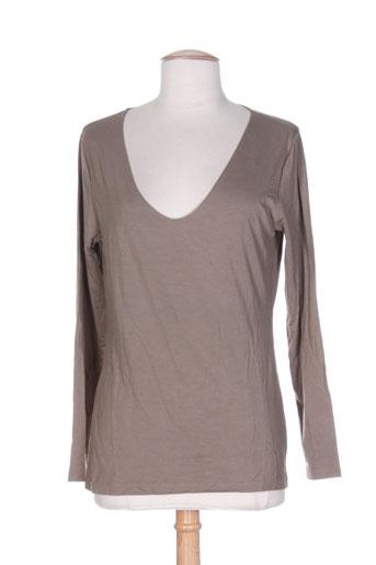 olivier strelli chemises femme de couleur marron