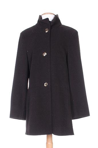 secher manteaux femme de couleur marron