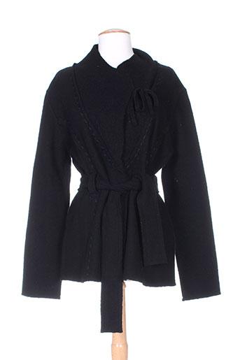 ecru vestes femme de couleur noir