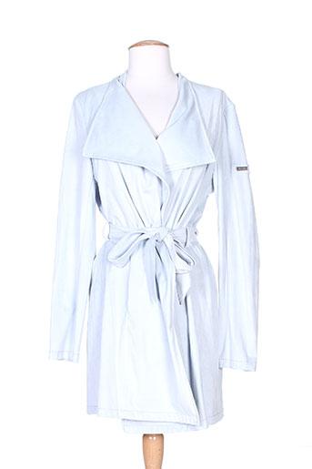 Veste casual bleu BURETTI pour femme