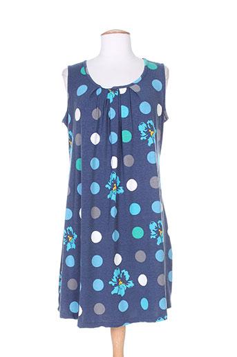 amari robes femme de couleur bleu