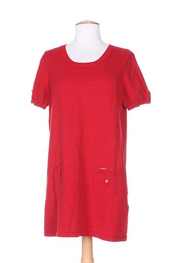 carmen robes femme de couleur rouge