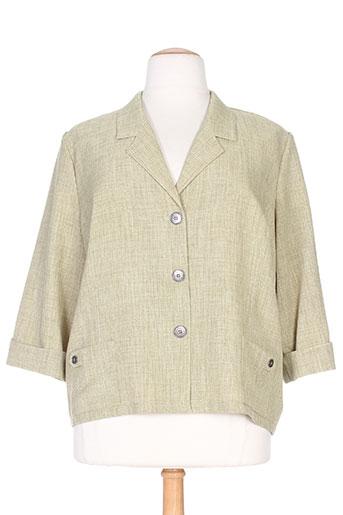 gevana vestes femme de couleur vert