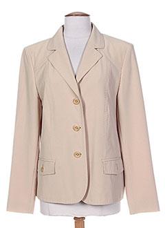 Veste chic / Blazer beige KIRSTEN pour femme