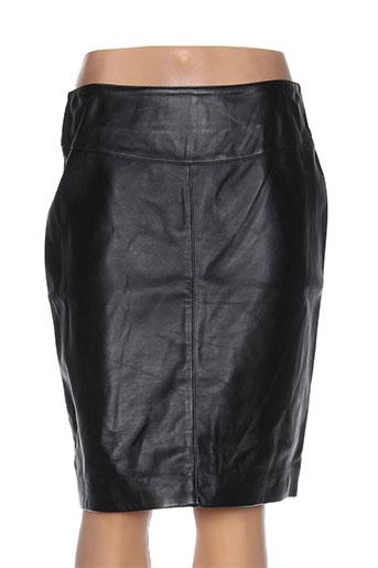 oakwood jupes femme de couleur noir