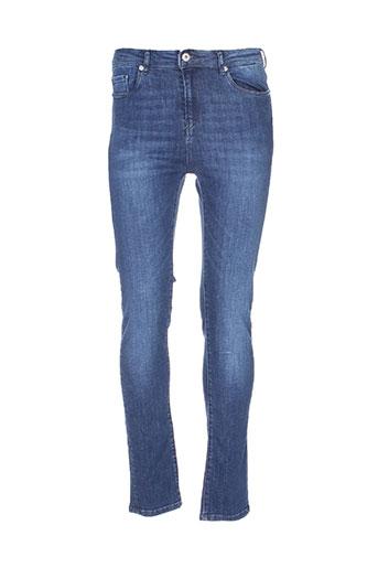 kaporal jeans et coupe et slim femme de couleur bleu