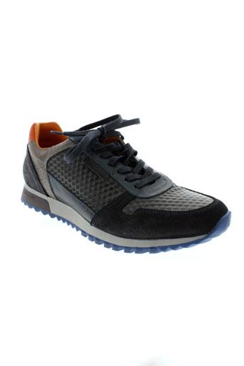 cycleur de luxe chaussures homme de couleur bleu