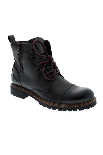 bunker boots homme de couleur noir
