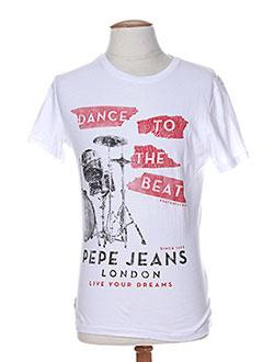 Produit-T-shirts / Tops-Homme-PEPE JEANS