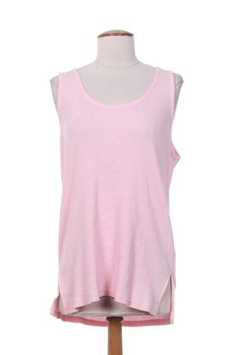 clin d'oeil t-shirts femme de couleur rose