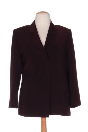 parisiennes vestes femme de couleur violet
