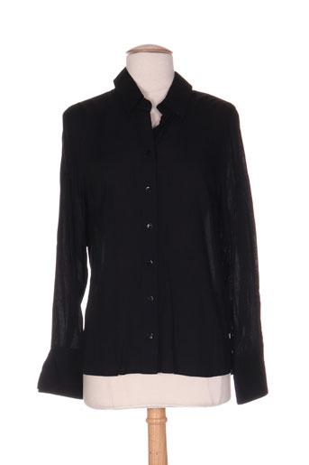 miss baron chemises femme de couleur noir
