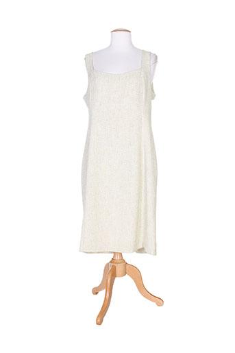 mitsouki robes femme de couleur beige
