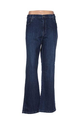 maksim.z jeans femme de couleur bleu