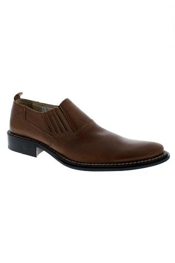 trussardi jeans chaussures homme de couleur marron