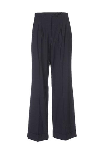 garou paris pantalons femme de couleur noir