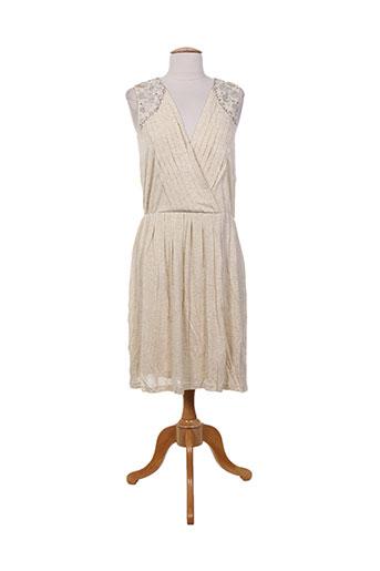 charabia robes femme de couleur beige