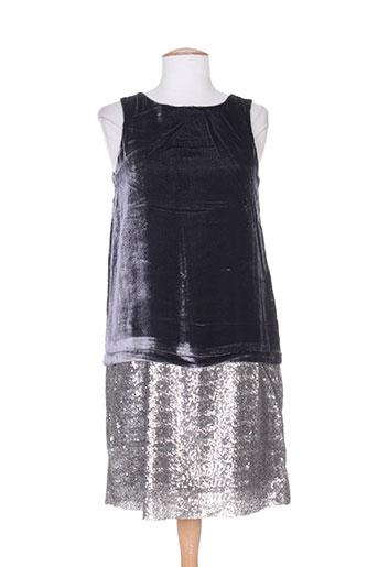 charabia robes femme de couleur gris