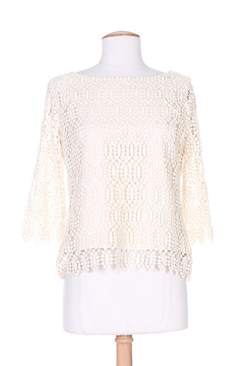 Top beige CHARABIA pour femme