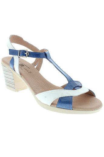 jose et saenz sandales et nu et pieds femme de couleur bleu