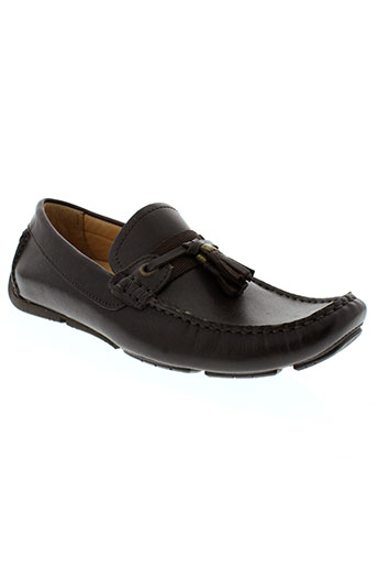 baxton mocassins homme de couleur marron