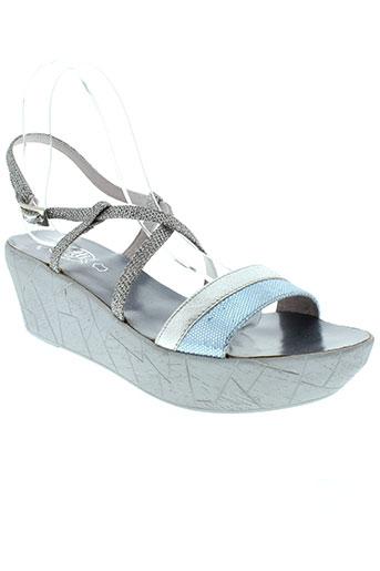 vitti love chaussures femme de couleur gris