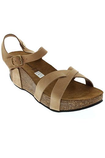 anna fidanza chaussures femme de couleur marron