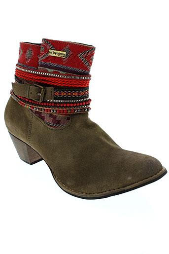 les et tropeziennes et par et m et belarbi boots femme de couleur marron