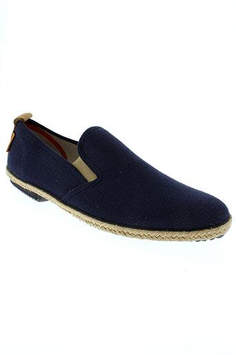 peter blade chaussures homme de couleur bleu