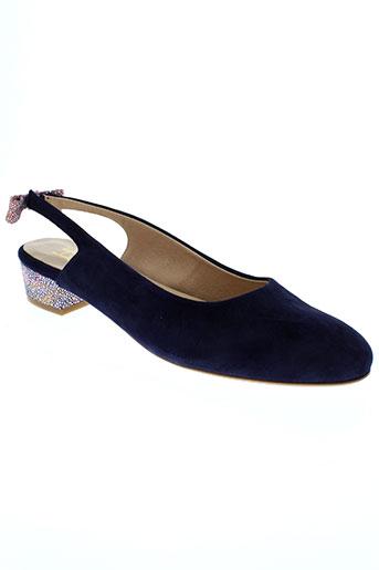 he spring chaussures femme de couleur bleu