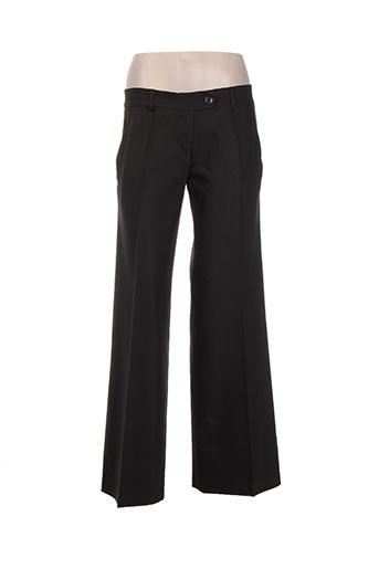 les petites collections pantalons femme de couleur marron