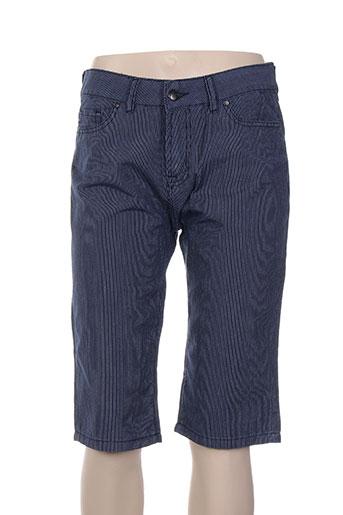 denimood shorts / bermudas femme de couleur bleu