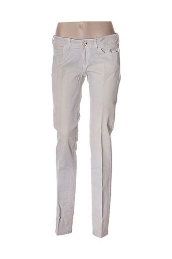 nfy jeans femme de couleur gris