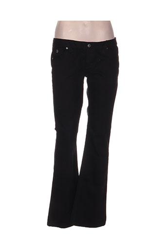 sandro jeans femme de couleur noir