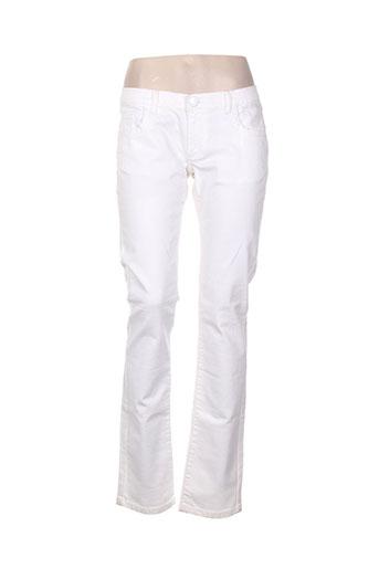 sandro jeans femme de couleur blanc