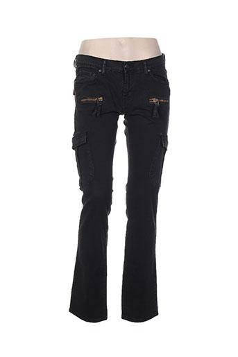 denimood jeans femme de couleur noir