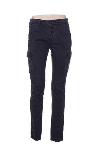 my pants pantalons femme de couleur bleu