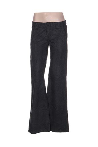 nfy pantalons femme de couleur gris