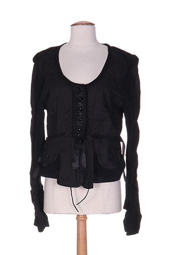 garancia vestes femme de couleur noir