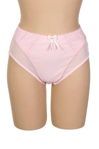 elomi slips et culottes femme de couleur rose