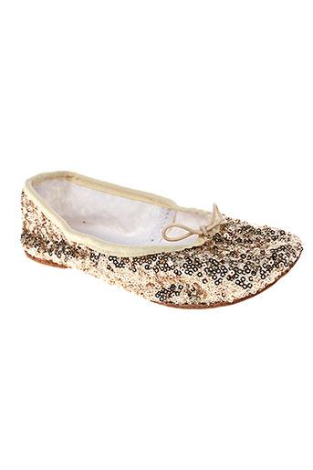 elisabeth puig chaussures fille de couleur jaune